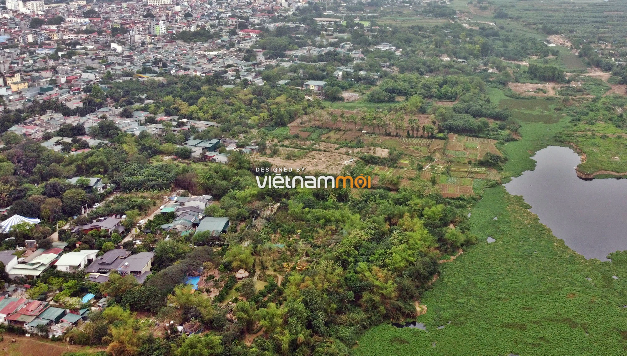 Toàn cảnh hiện trạng Phân khu đô thị sông Hồng trên địa bàn quận Ba Đình - Ảnh 11.