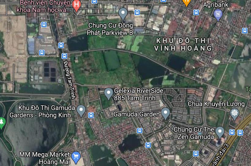 Đất dính quy hoạch ở quận Hoàng Mai, Hà Nội - Ảnh 2.