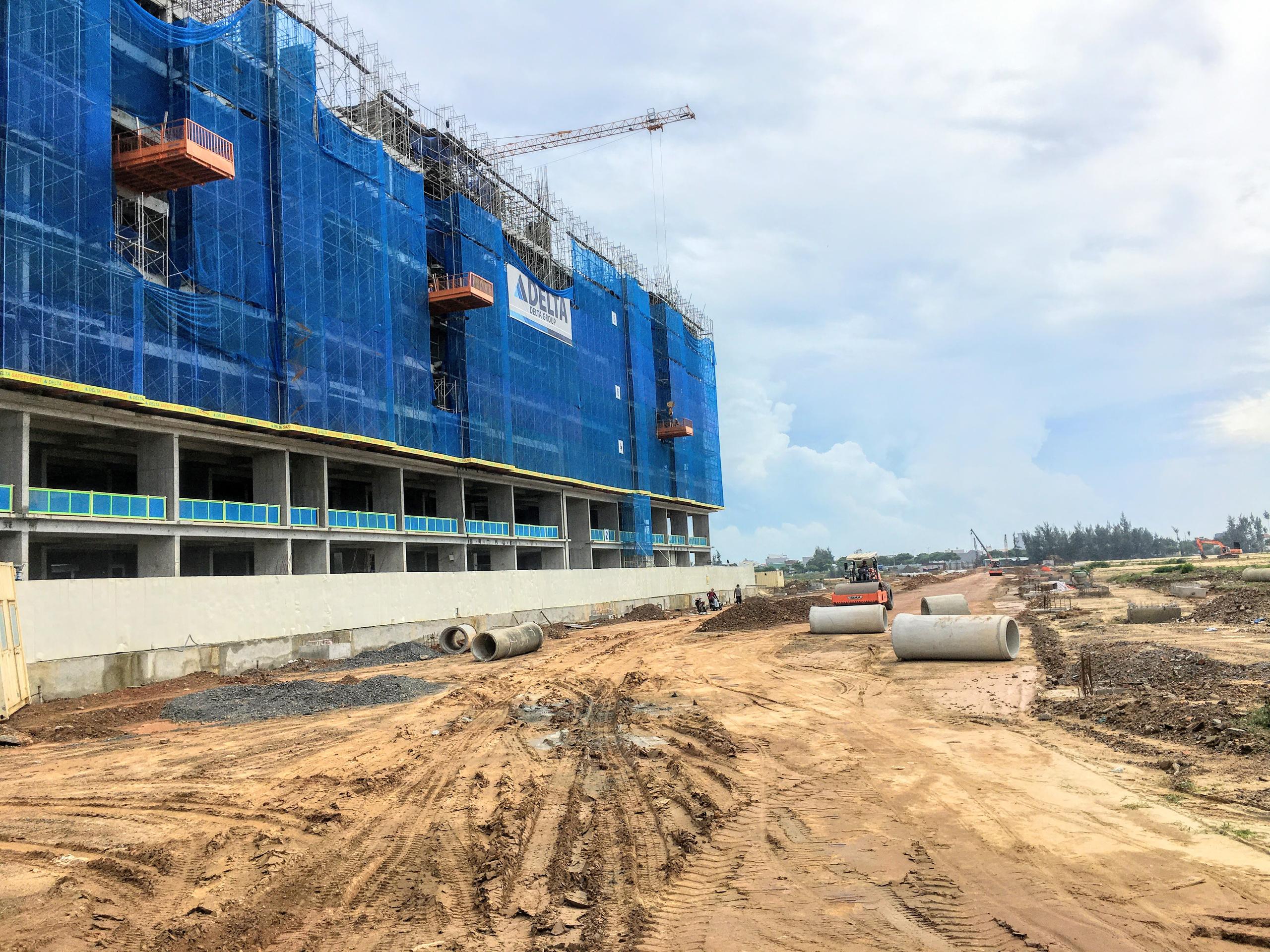 Phía nam Đà Nẵng sắp có tòa chung cư 700 căn, vốn đầu tư 1.000 tỷ đồng - Ảnh 1.