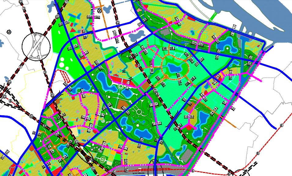 Bản đồ quy hoạch giao thông quận Bắc Từ Liêm, Hà Nội - Ảnh 2.