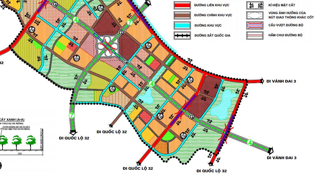 Bản đồ quy hoạch giao thông quận Bắc Từ Liêm, Hà Nội - Ảnh 5.