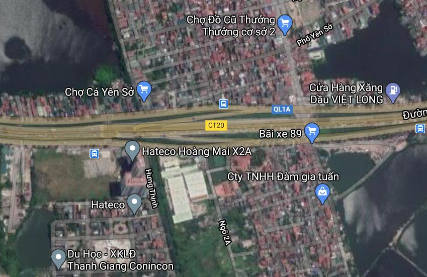Đất dính quy hoạch ở phường Yên Sở, Hoàng Mai, Hà Nội - Ảnh 2.
