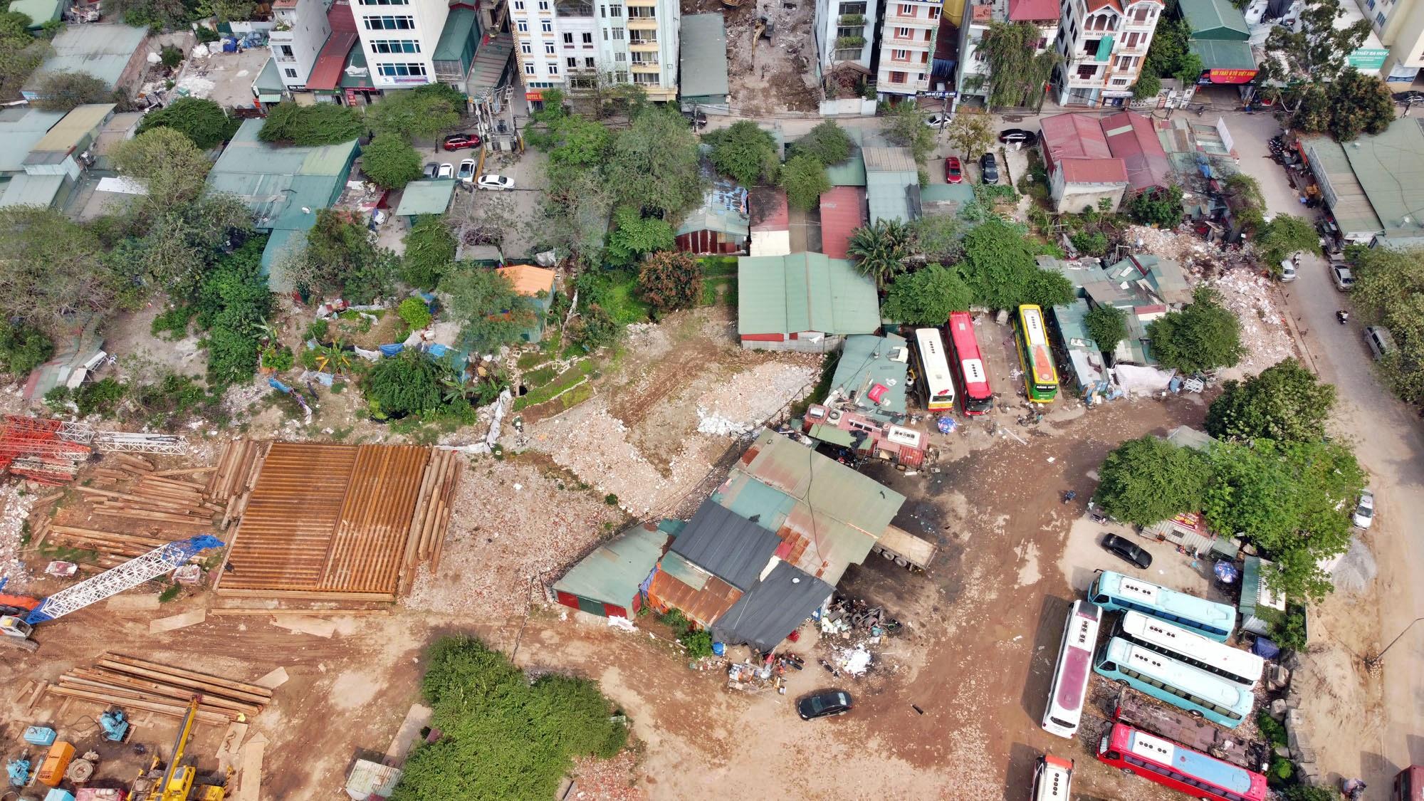 Toàn cảnh đường từ Vũ Quỳnh đến Lê Đức Thọ - Phạm Hùng đang mở theo quy hoạch ở Hà Nội - Ảnh 12.