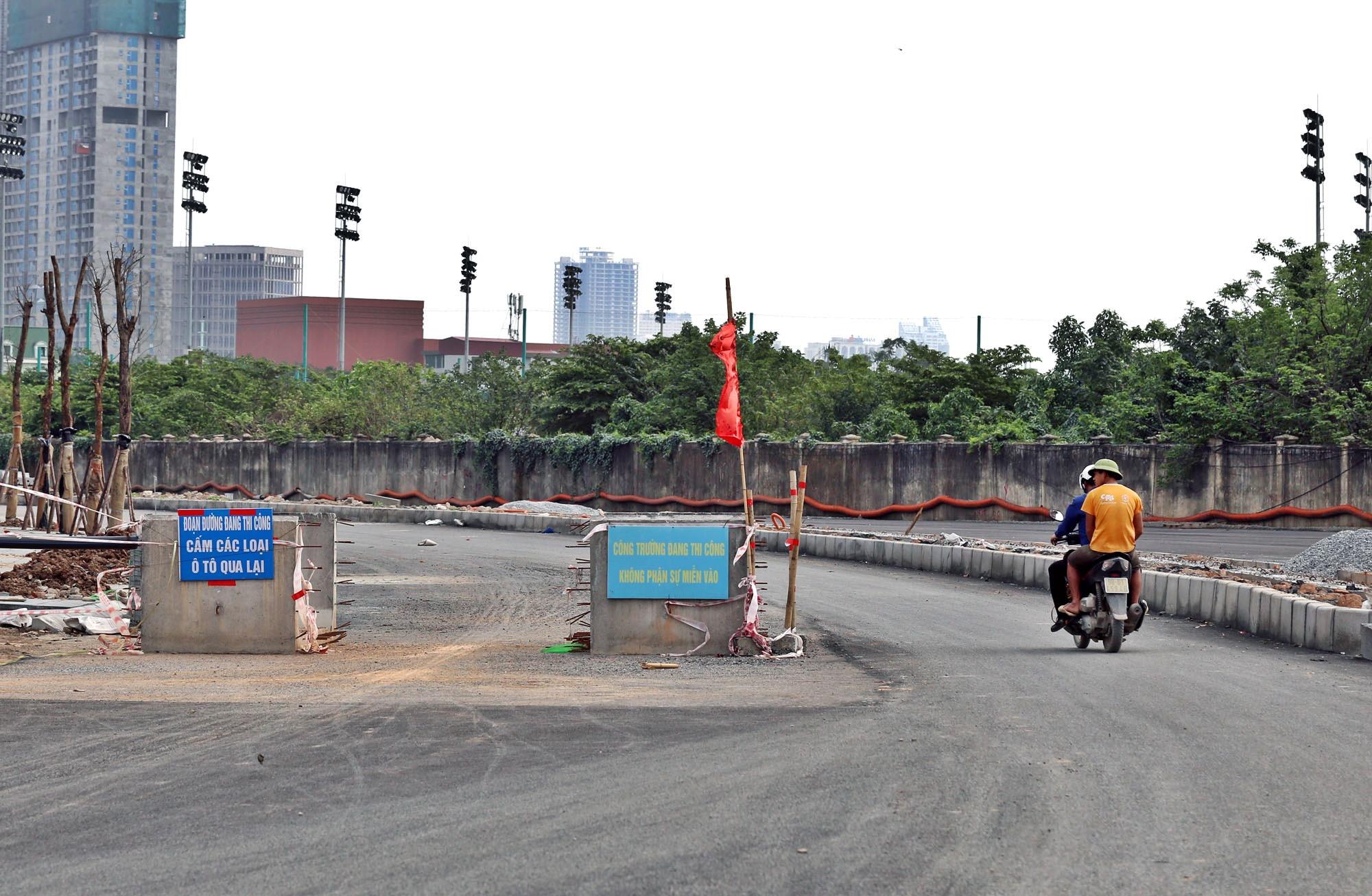 Toàn cảnh đường từ Vũ Quỳnh đến Lê Đức Thọ - Phạm Hùng đang mở theo quy hoạch ở Hà Nội - Ảnh 13.