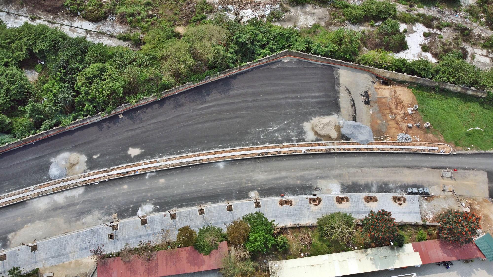 Toàn cảnh đường từ Vũ Quỳnh đến Lê Đức Thọ - Phạm Hùng đang mở theo quy hoạch ở Hà Nội - Ảnh 7.