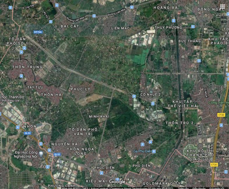 Đường sẽ mở ở quận Bắc Từ Liêm, Hà Nội - Ảnh 2.