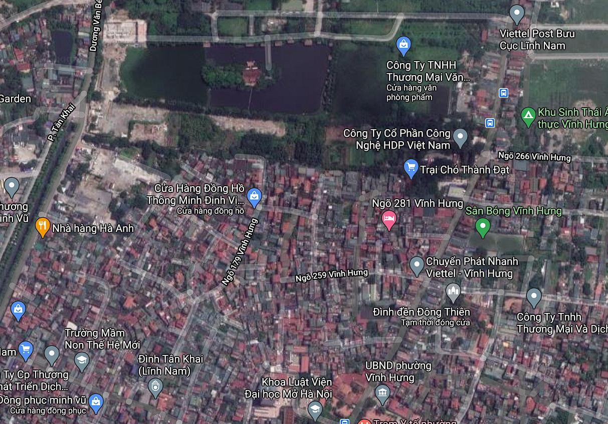 Đất dính quy hoạch ở phường Vĩnh Hưng, Hoàng Mai, Hà Nội - Ảnh 2.