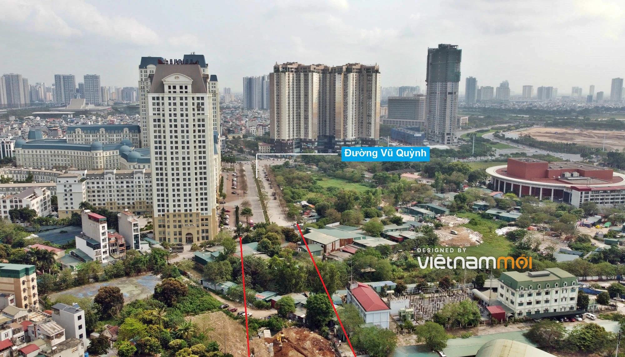 Toàn cảnh đường từ Vũ Quỳnh đến Lê Đức Thọ - Phạm Hùng đang mở theo quy hoạch ở Hà Nội - Ảnh 1.