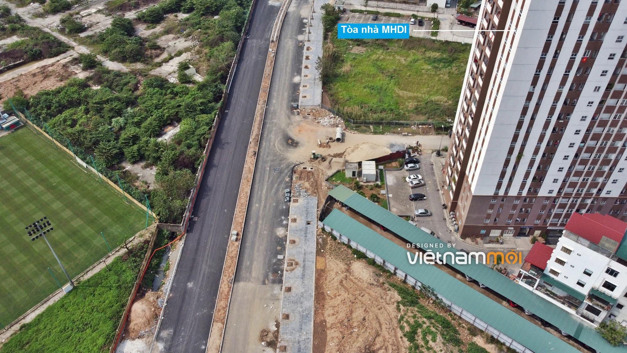 Toàn cảnh đường từ Vũ Quỳnh đến Lê Đức Thọ - Phạm Hùng đang mở theo quy hoạch ở Hà Nội - Ảnh 4.