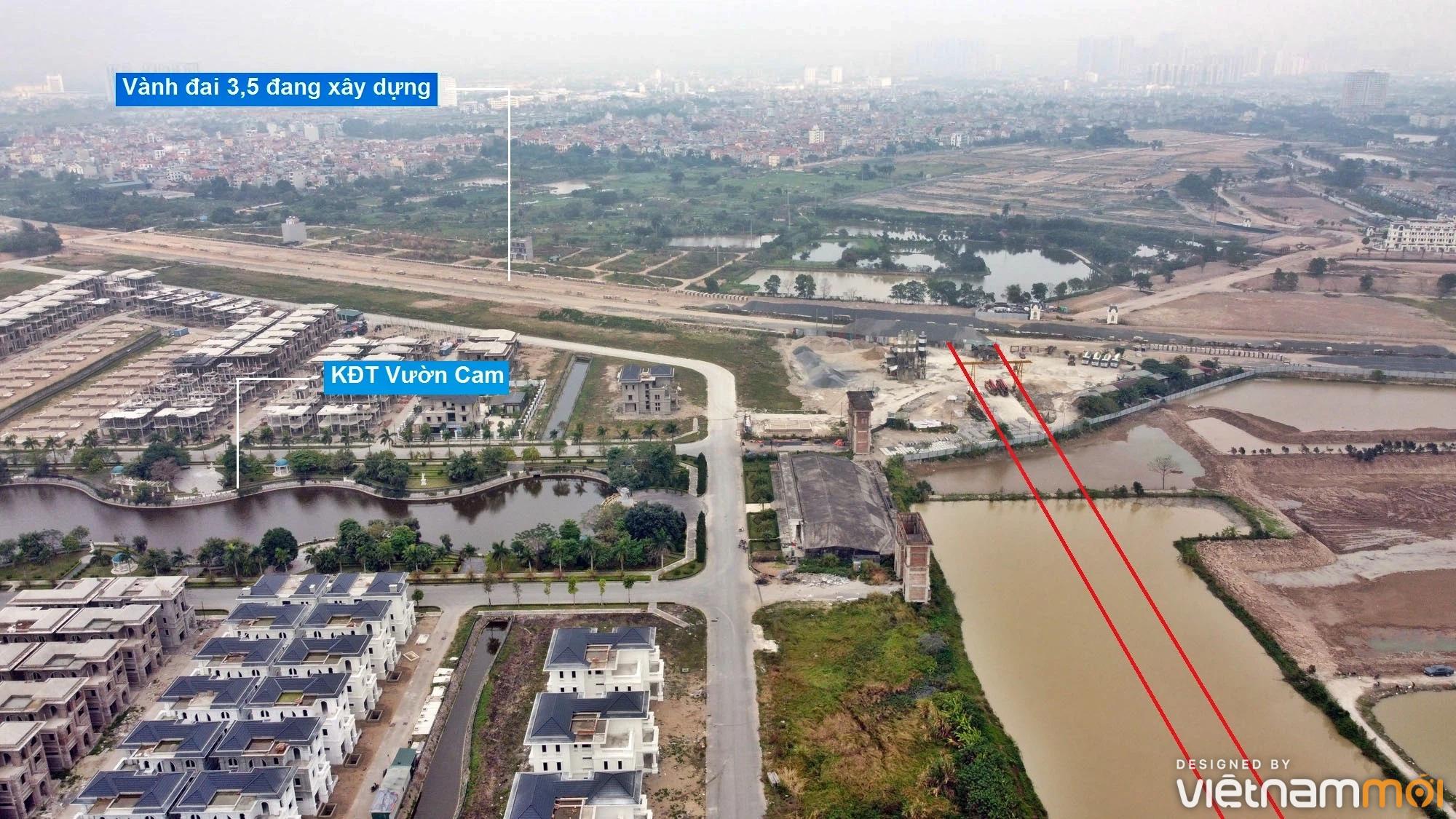 Đường sẽ mở theo quy hoạch ở xã Vân Canh, Hoài Đức, Hà Nội (phần 4) - Ảnh 3.