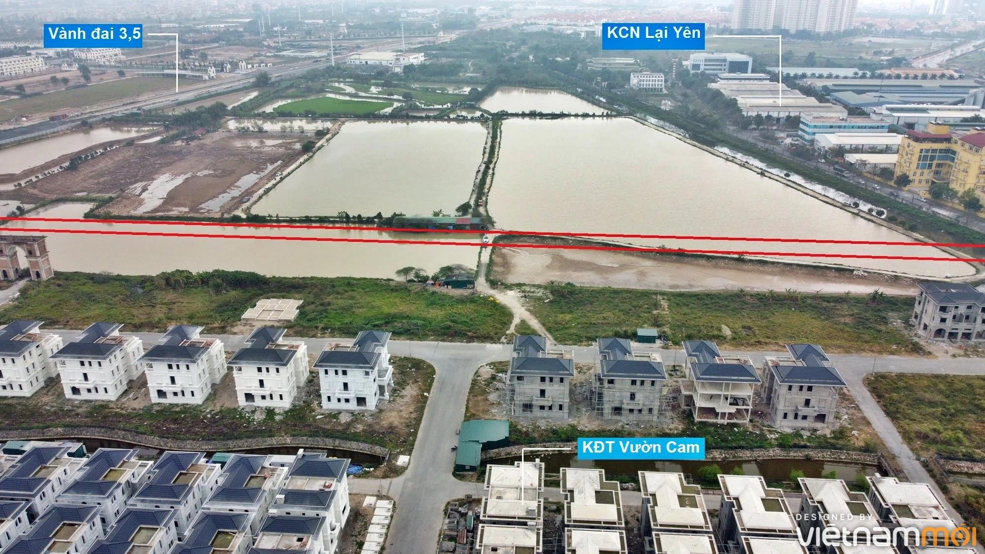 Đường sẽ mở theo quy hoạch ở xã Vân Canh, Hoài Đức, Hà Nội (phần 4) - Ảnh 4.
