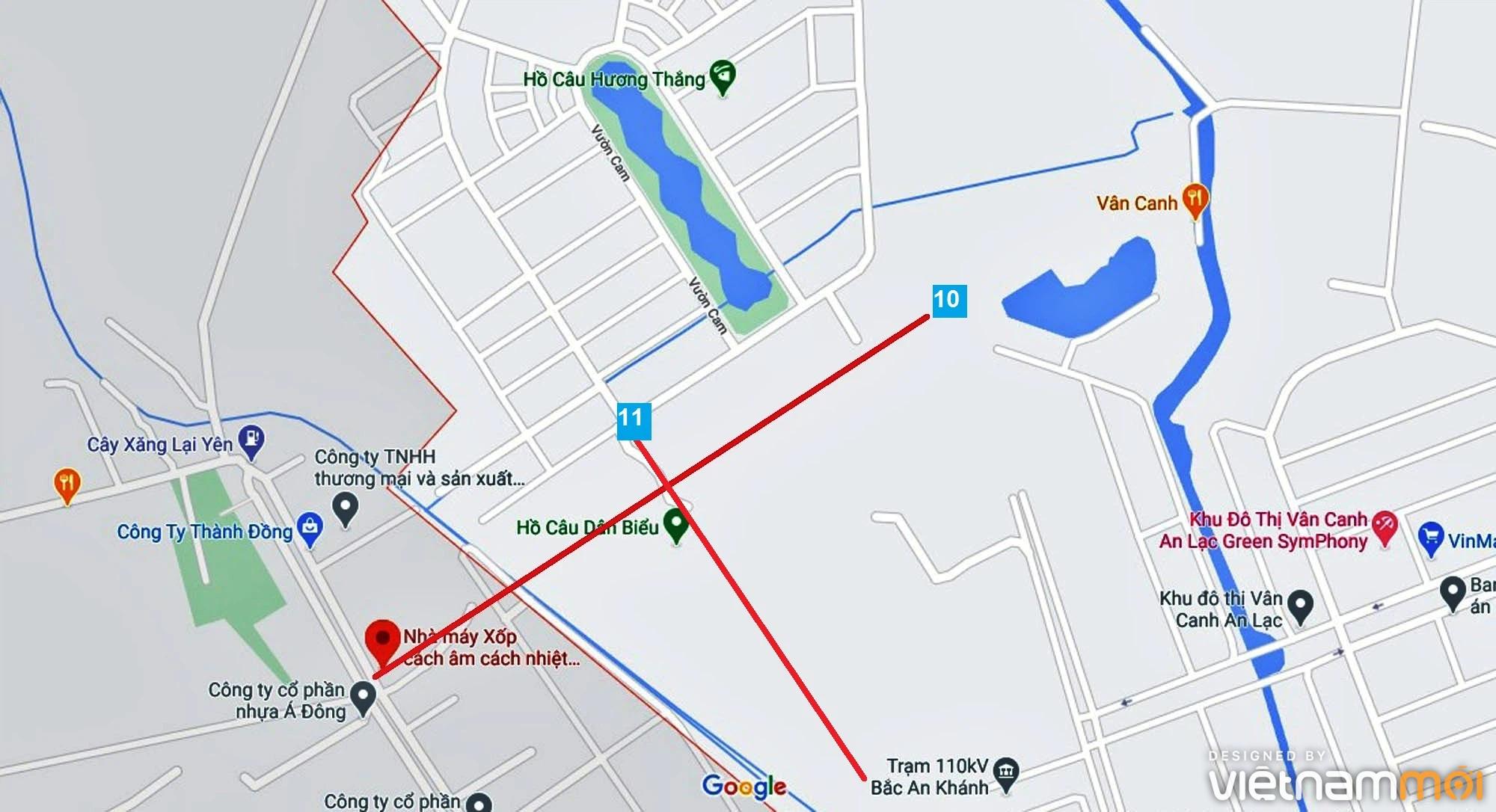 Đường sẽ mở theo quy hoạch ở xã Vân Canh, Hoài Đức, Hà Nội (phần 4) - Ảnh 6.