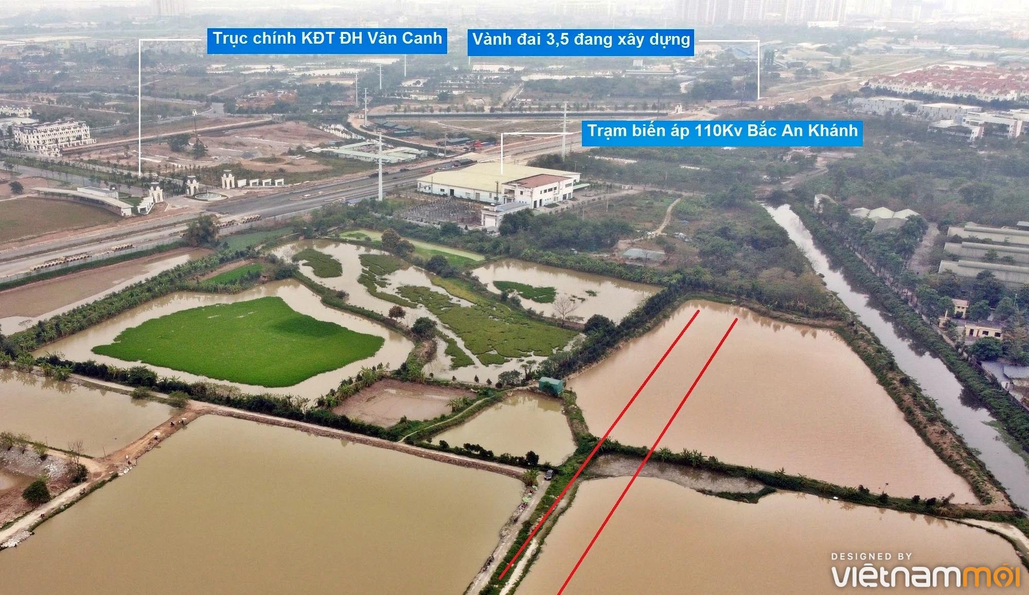 Đường sẽ mở theo quy hoạch ở xã Vân Canh, Hoài Đức, Hà Nội (phần 4) - Ảnh 8.