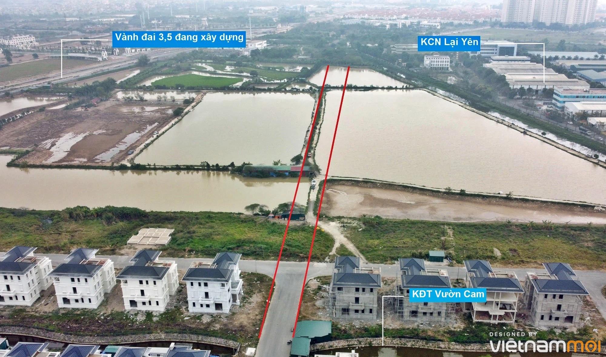 Đường sẽ mở theo quy hoạch ở xã Vân Canh, Hoài Đức, Hà Nội (phần 4) - Ảnh 9.