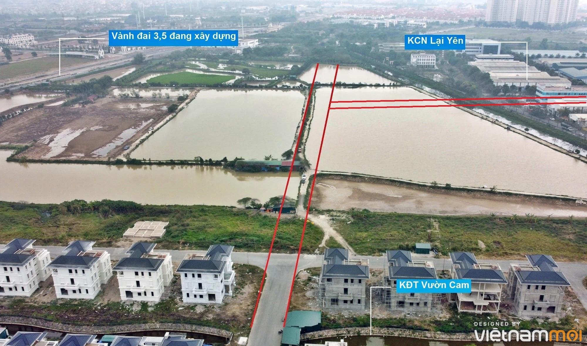 Đường sẽ mở theo quy hoạch ở xã Vân Canh, Hoài Đức, Hà Nội (phần 4) - Ảnh 11.