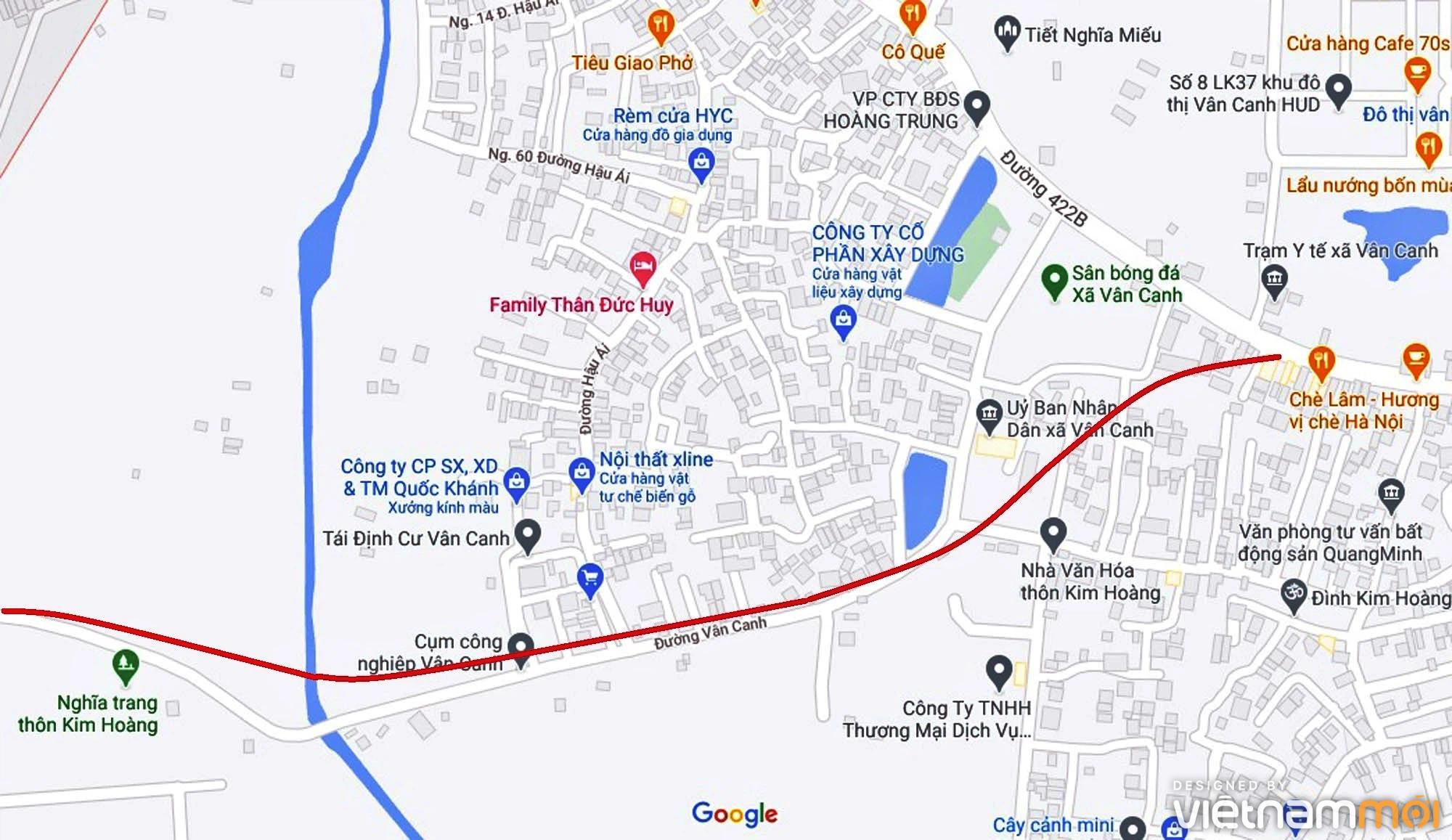 Đường sẽ mở theo quy hoạch ở xã Vân Canh, Hoài Đức, Hà Nội (phần 5) - Ảnh 2.