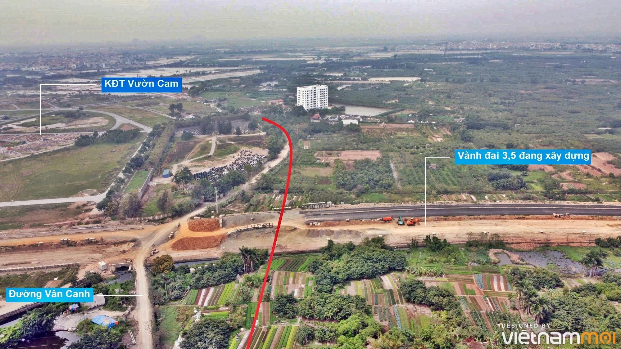 Đường sẽ mở theo quy hoạch ở xã Vân Canh, Hoài Đức, Hà Nội (phần 5) - Ảnh 4.
