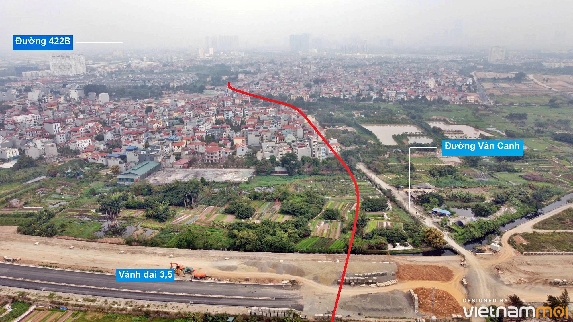 Đường sẽ mở theo quy hoạch ở xã Vân Canh, Hoài Đức, Hà Nội (phần 5) - Ảnh 5.