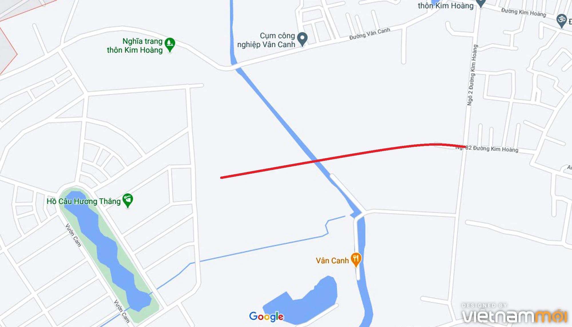 Đường sẽ mở theo quy hoạch ở xã Vân Canh, Hoài Đức, Hà Nội (phần 5) - Ảnh 6.