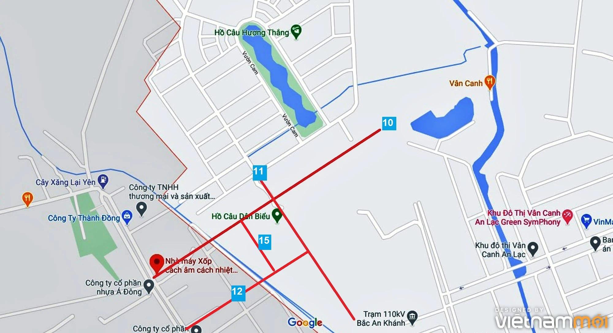 Đường sẽ mở theo quy hoạch ở xã Vân Canh, Hoài Đức, Hà Nội (phần 5) - Ảnh 9.