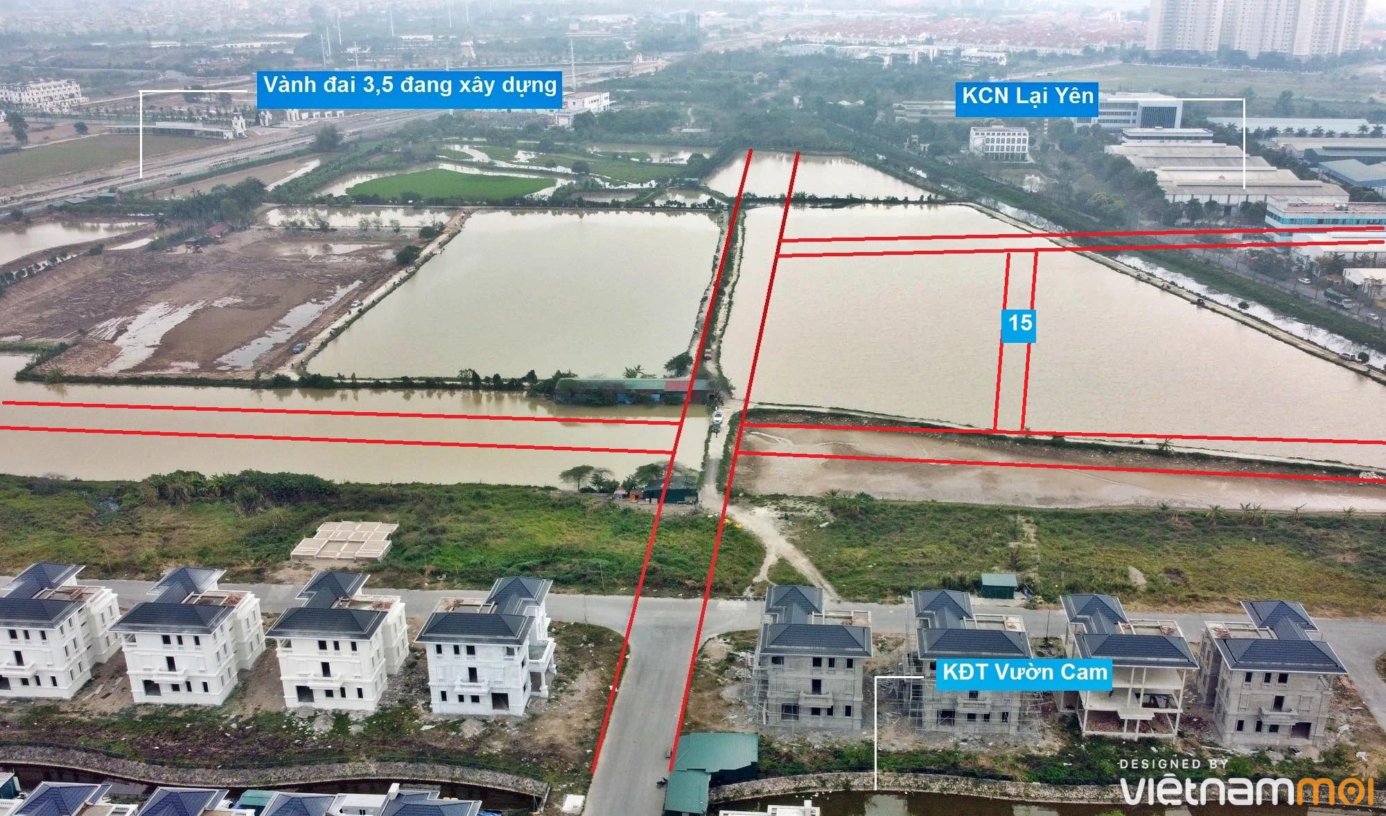 Đường sẽ mở theo quy hoạch ở xã Vân Canh, Hoài Đức, Hà Nội (phần 5) - Ảnh 10.