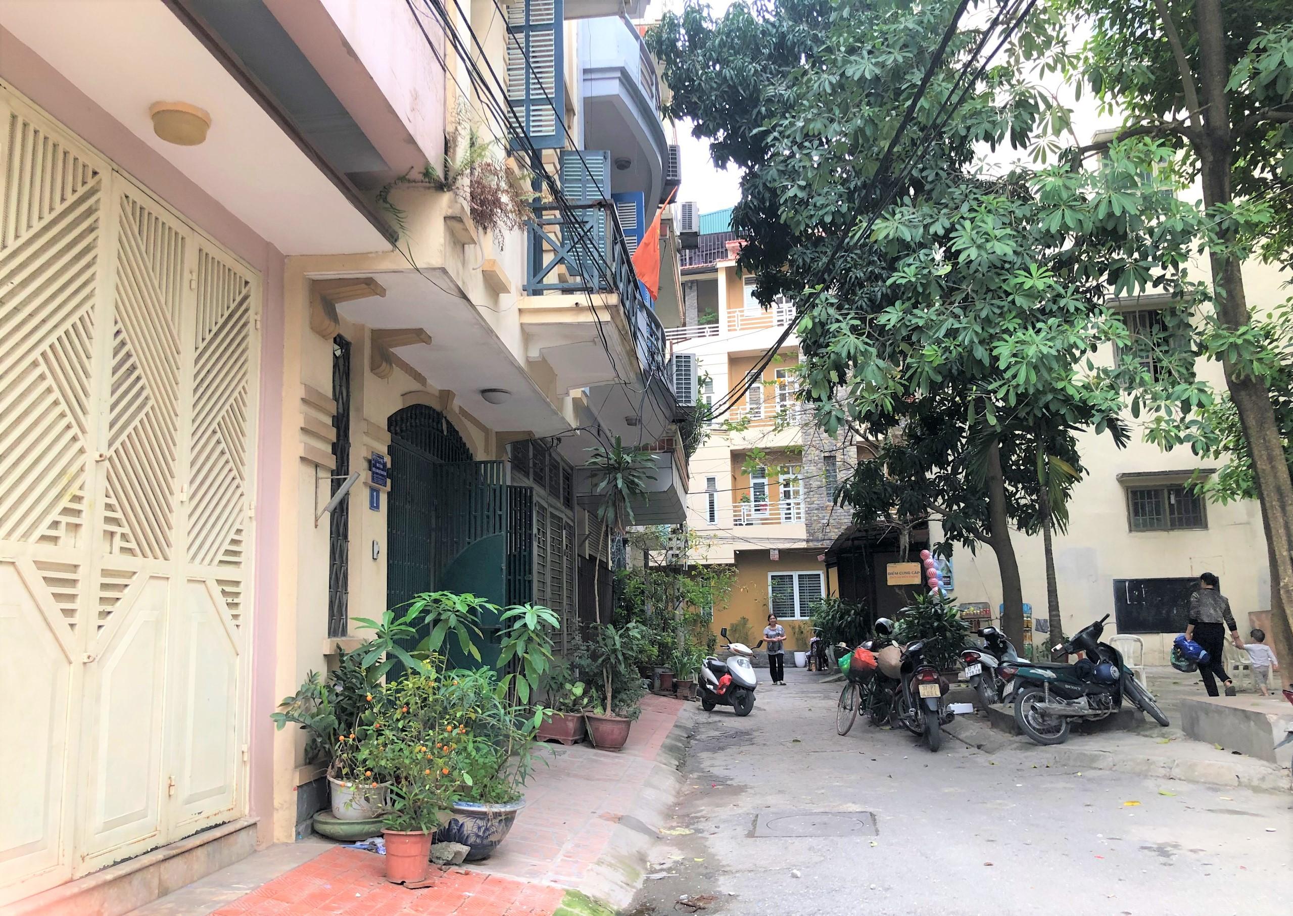 Đường sắp mở theo quy hoạch ở phường Liễu Giai, Ba Đình, Hà Nội (phần 2): Đường nối Đội Cấn - Hoàng Hoa Thám  - Ảnh 8.