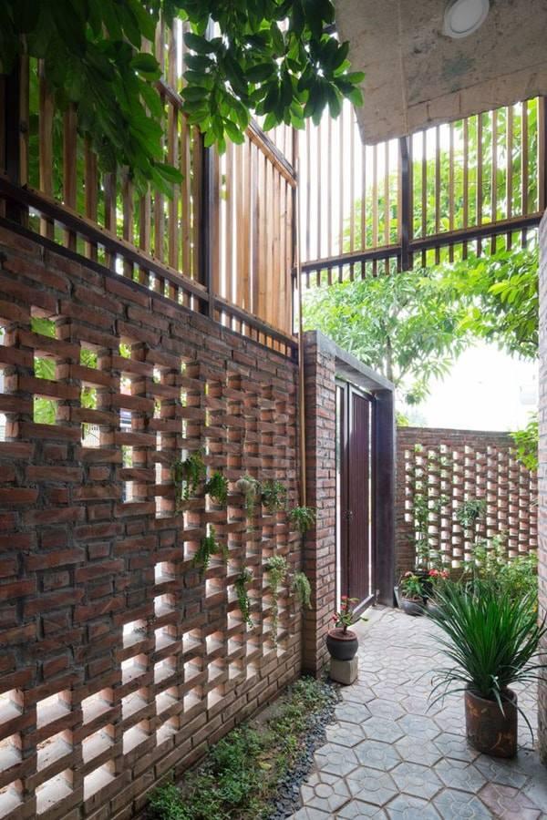 Gợi ý một số mẫu hàng rào đẹp và kiên cố cho nhà cấp 4 - Ảnh 5.