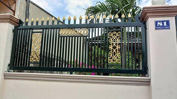 Gợi ý một số mẫu hàng rào đẹp và kiên cố cho nhà cấp 4 - Ảnh 22.