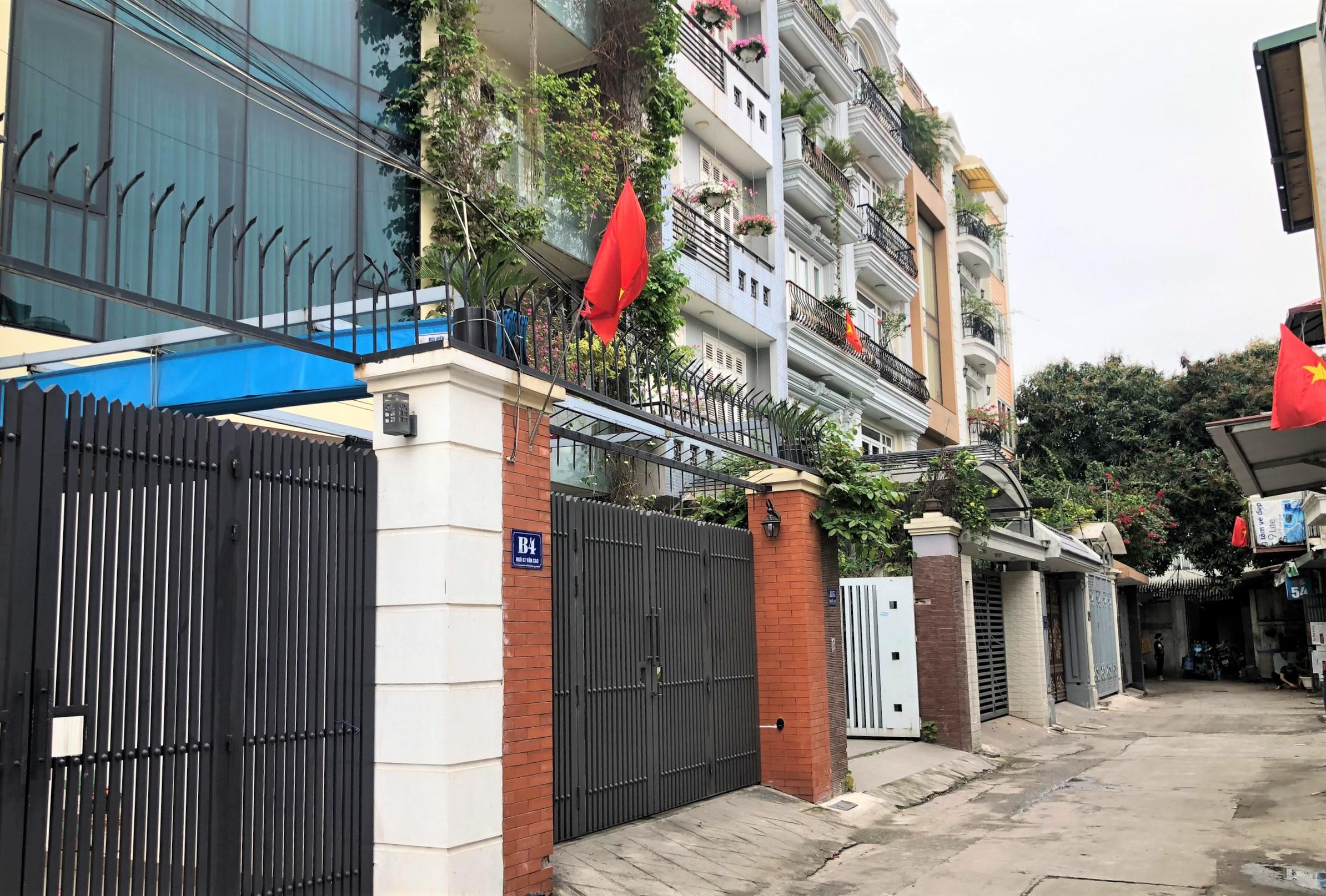 Đường sắp mở theo quy hoạch ở phường Liễu Giai, Ba Đình, Hà Nội (phần 2): Đường nối Đội Cấn - Hoàng Hoa Thám  - Ảnh 11.