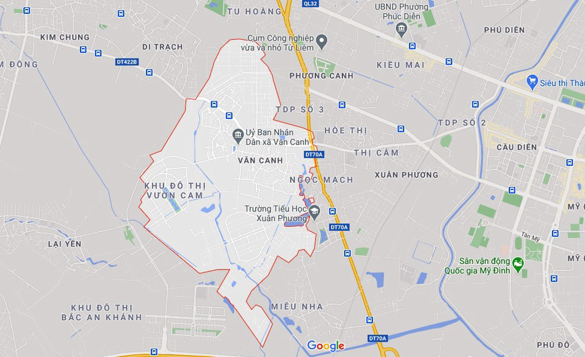 Đường sẽ mở theo quy hoạch ở xã Vân Canh, Hoài Đức, Hà Nội (phần 4) - Ảnh 1.