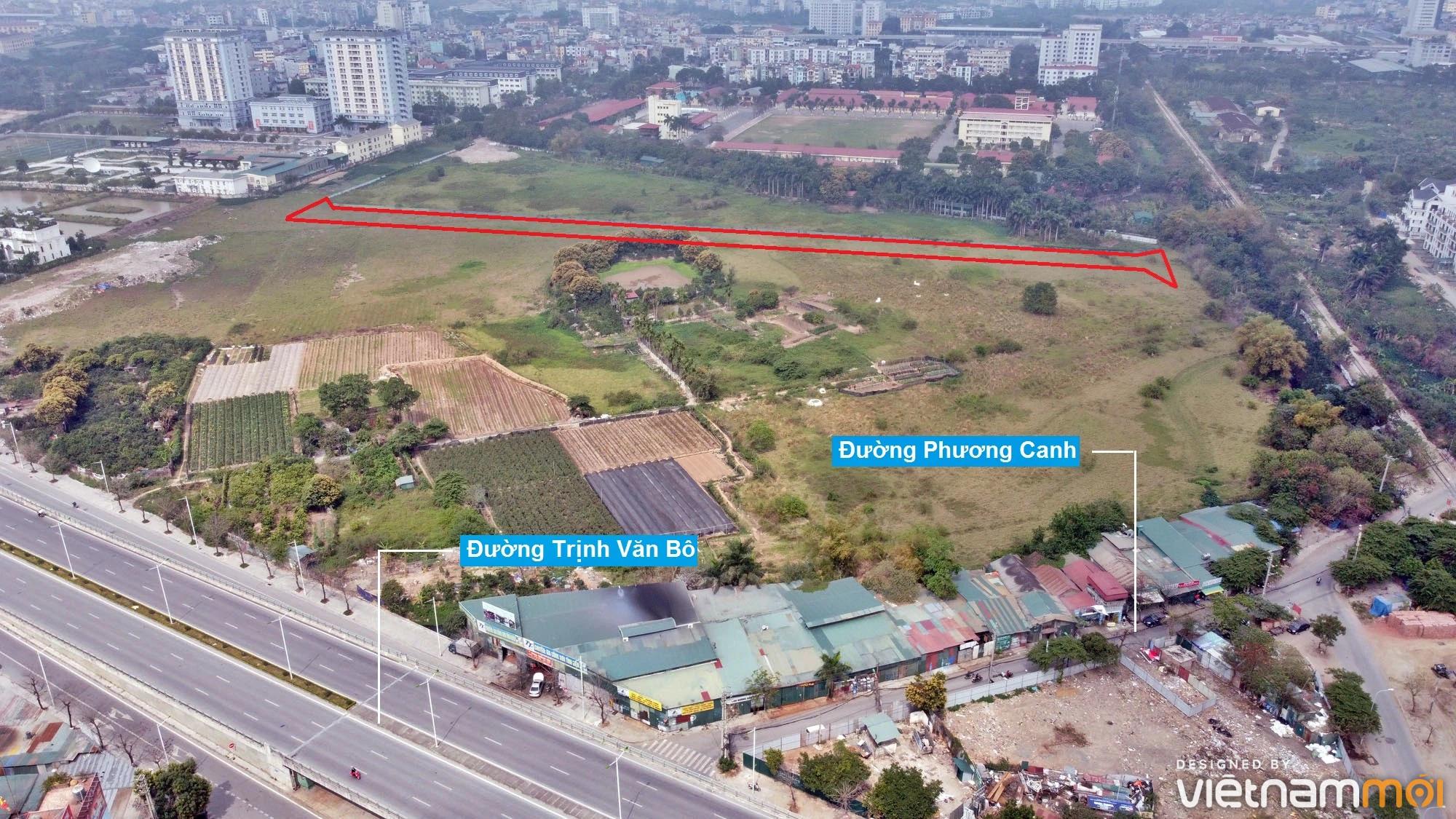 Những khu đất sắp thu hồi để mở đường ở phường Phương Canh, Nam Từ Liêm, Hà Nội (phần 3) - Ảnh 6.