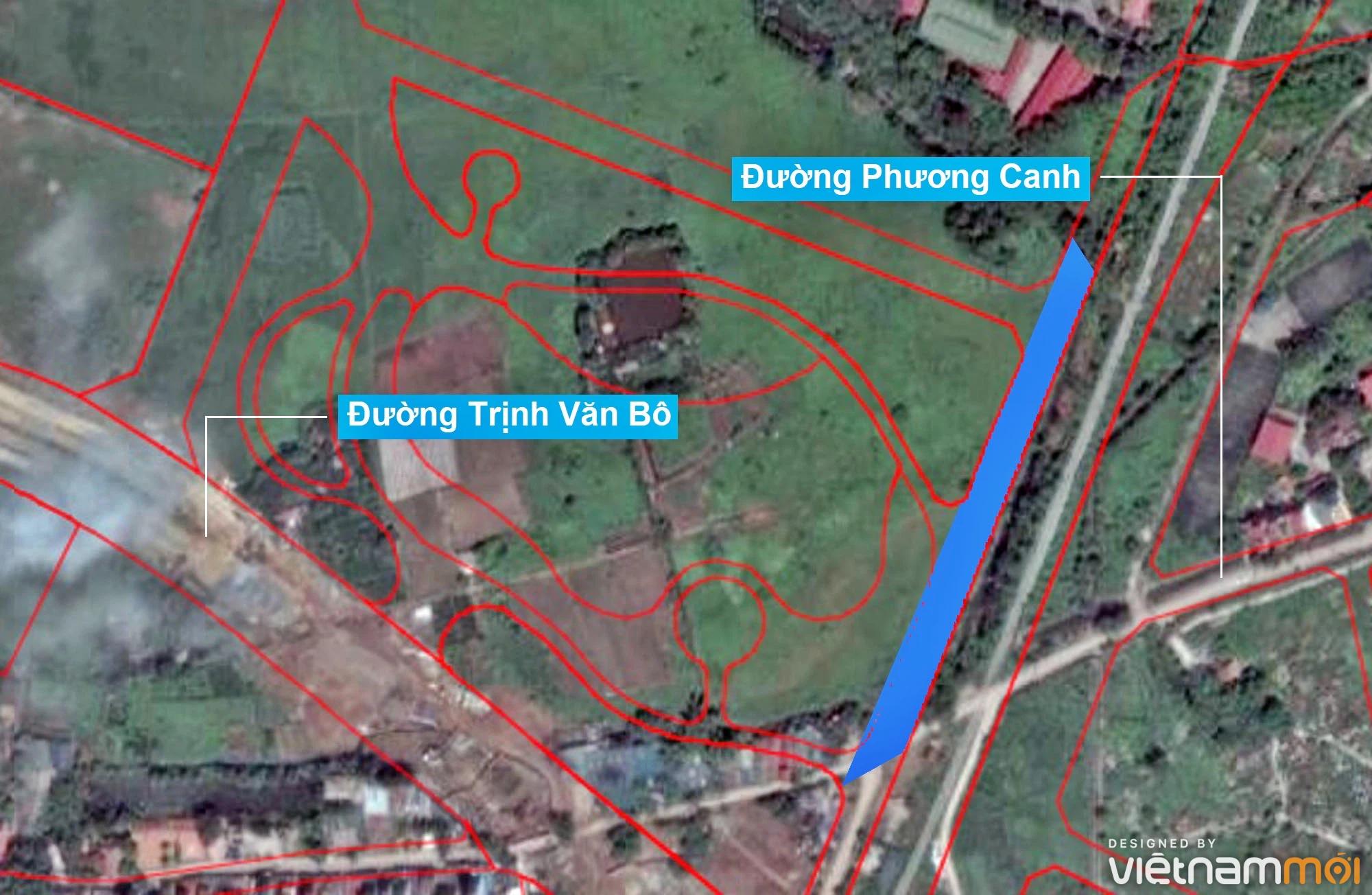 Những khu đất sắp thu hồi để mở đường ở phường Phương Canh, Nam Từ Liêm, Hà Nội (phần 3) - Ảnh 8.