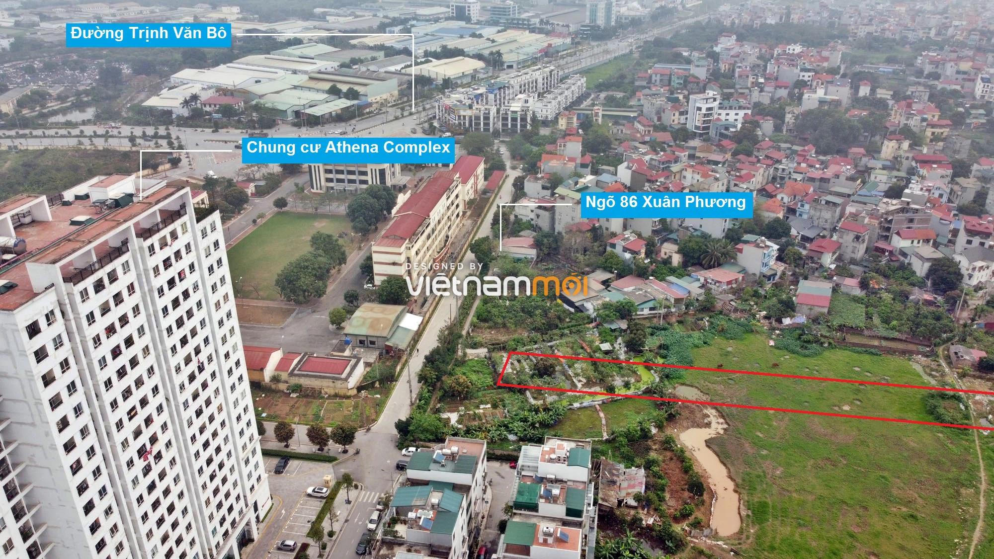 Những khu đất sắp thu hồi để mở đường ở phường Phương Canh, Nam Từ Liêm, Hà Nội (phần 2) - Ảnh 4.