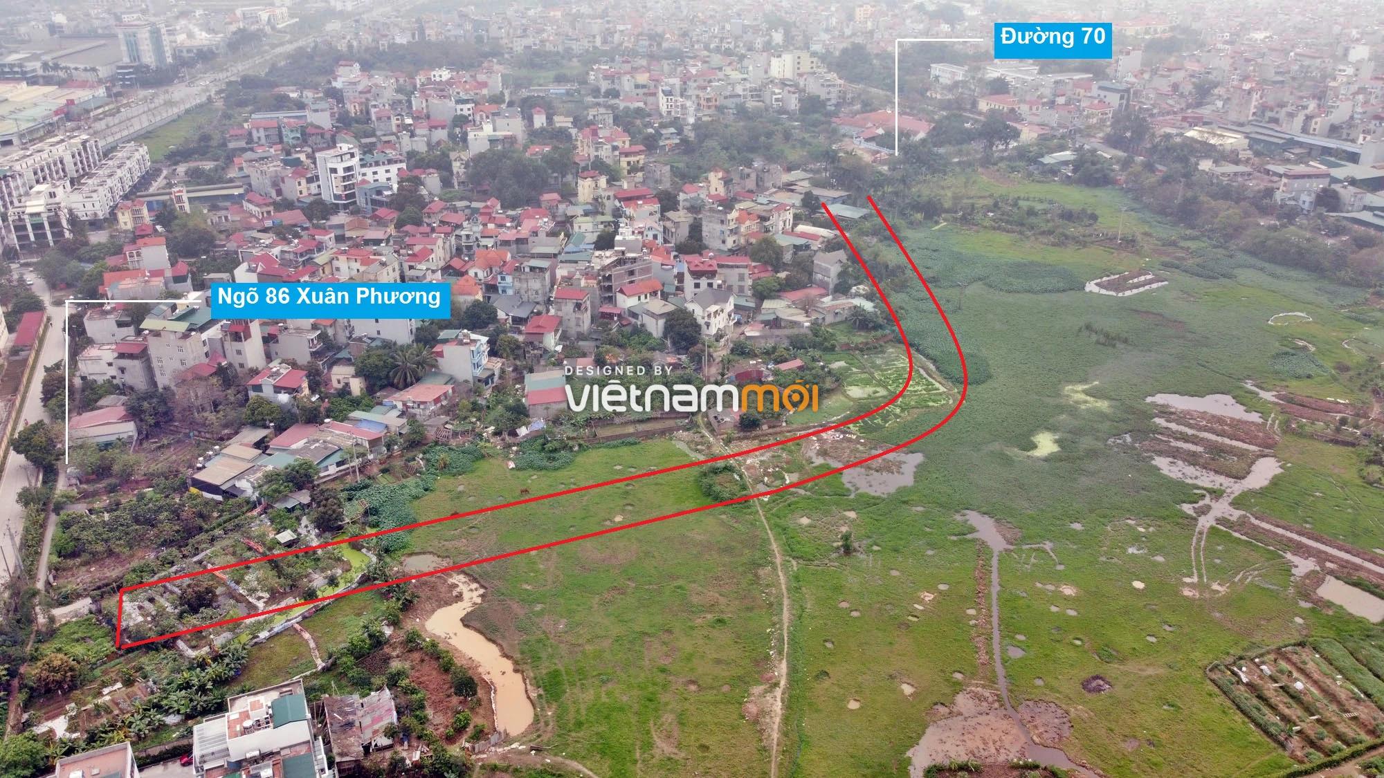 Những khu đất sắp thu hồi để mở đường ở phường Phương Canh, Nam Từ Liêm, Hà Nội (phần 2) - Ảnh 5.