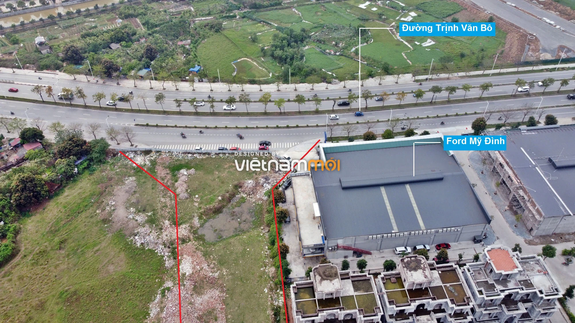 Những khu đất sắp thu hồi để mở đường ở phường Phương Canh, Nam Từ Liêm, Hà Nội (phần 2) - Ảnh 13.
