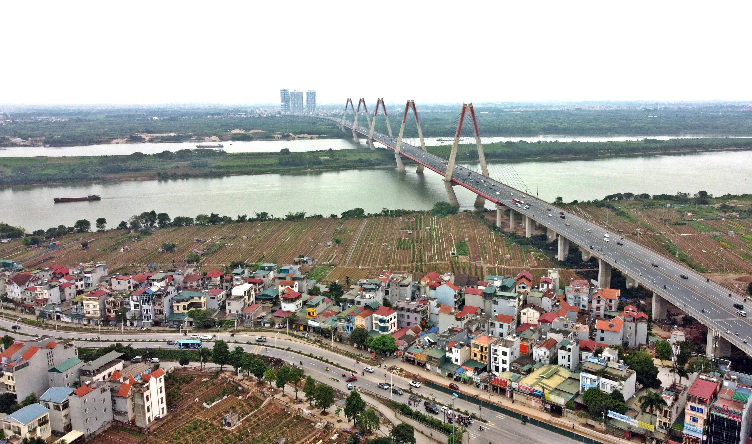 Phân khu đô thị sông Hồng chưa duyệt, nhà ở riêng lẻ ngoài đê có thể được cấp phép xây dựng - Ảnh 1.