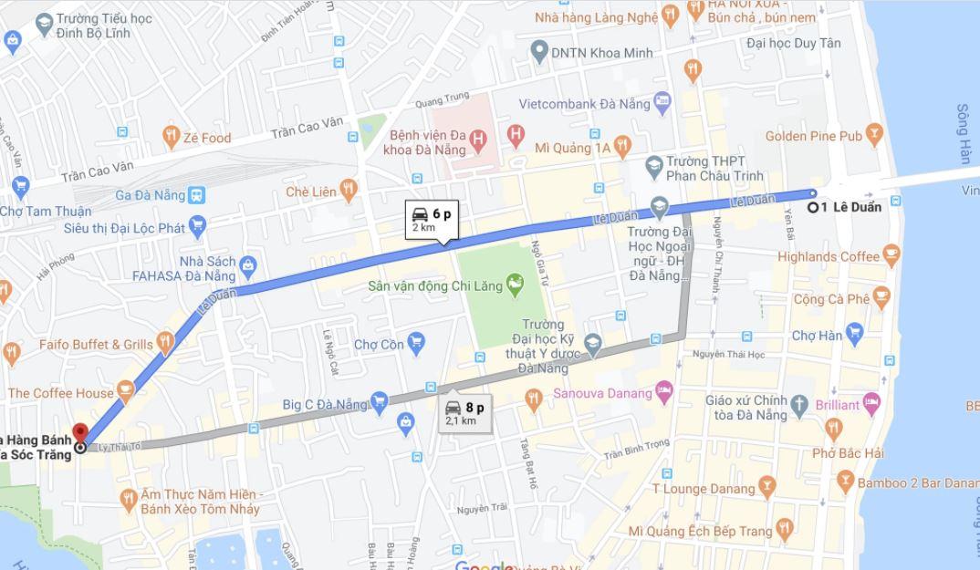 Giá đất đường Lê Duẩn, thành phố Đà Nẵng - Ảnh 1.