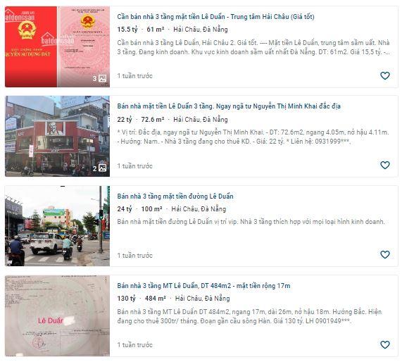 Giá đất đường Lê Duẩn, thành phố Đà Nẵng - Ảnh 4.