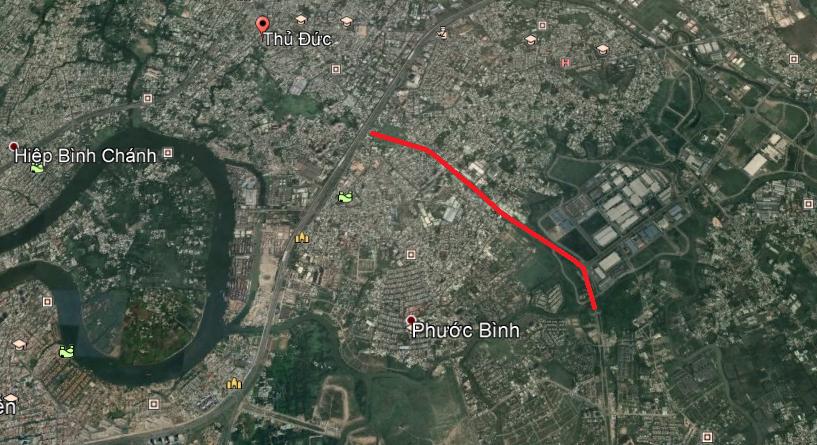 Vị trí sẽ mở Vành đai 2 TP HCM trong TP Thủ Đức (phần 2): Đoạn từ Quốc lộ 52 tới cầu Phú Hữu - Ảnh 3.