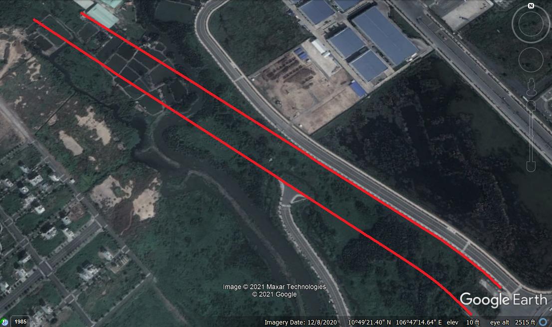 Vị trí sẽ mở Vành đai 2 TP HCM trong TP Thủ Đức (phần 2): Đoạn từ Quốc lộ 52 tới cầu Phú Hữu - Ảnh 7.