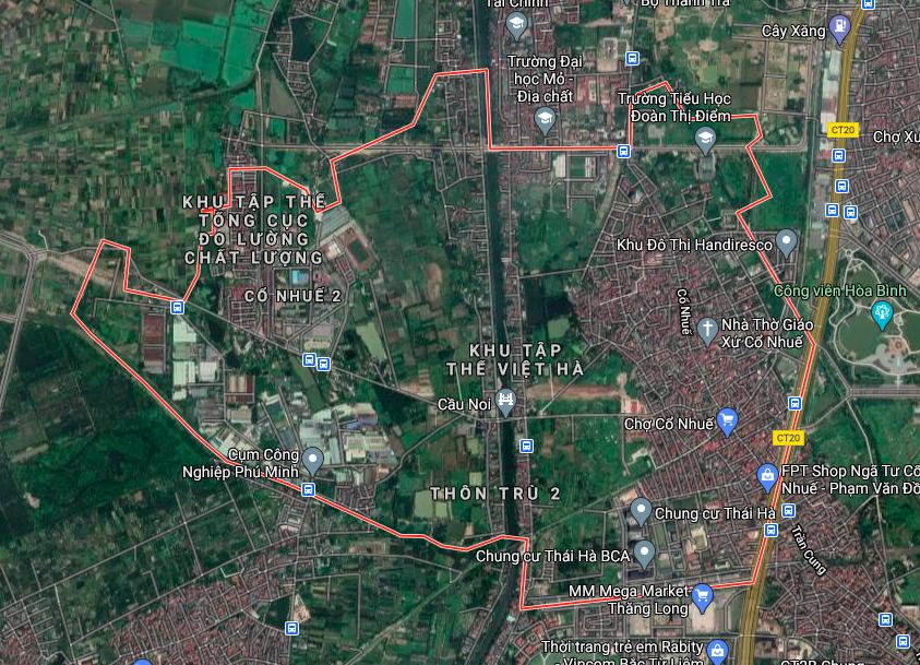 Kế hoạch sử dụng đất phường Cổ Nhuế 2, Bắc Từ Liêm, Hà Nội năm 2021 - Ảnh 2.