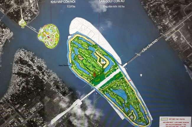 Sân golf hơn 1.000 tỷ đồng của Vingroup tại Cần Thơ dự kiến xong bồi thường, tái định cư vào tháng 11 - Ảnh 1.