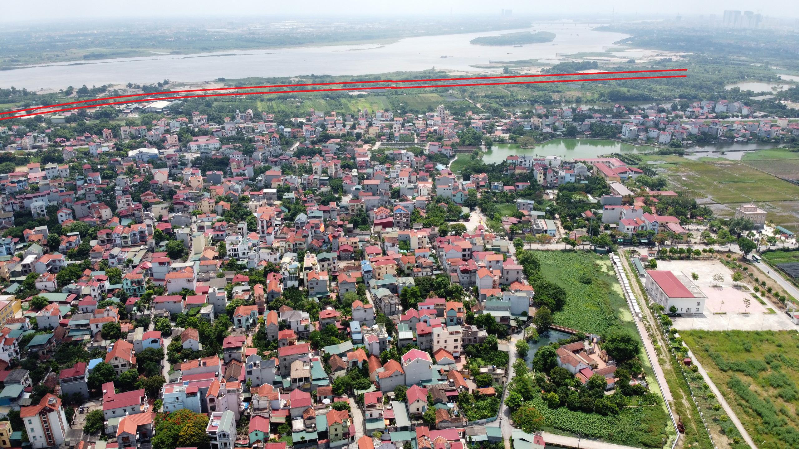 Kế hoạch sử dụng đất phường Thượng Cát, Bắc Từ Liêm, Hà Nội năm 2021 - Ảnh 1.
