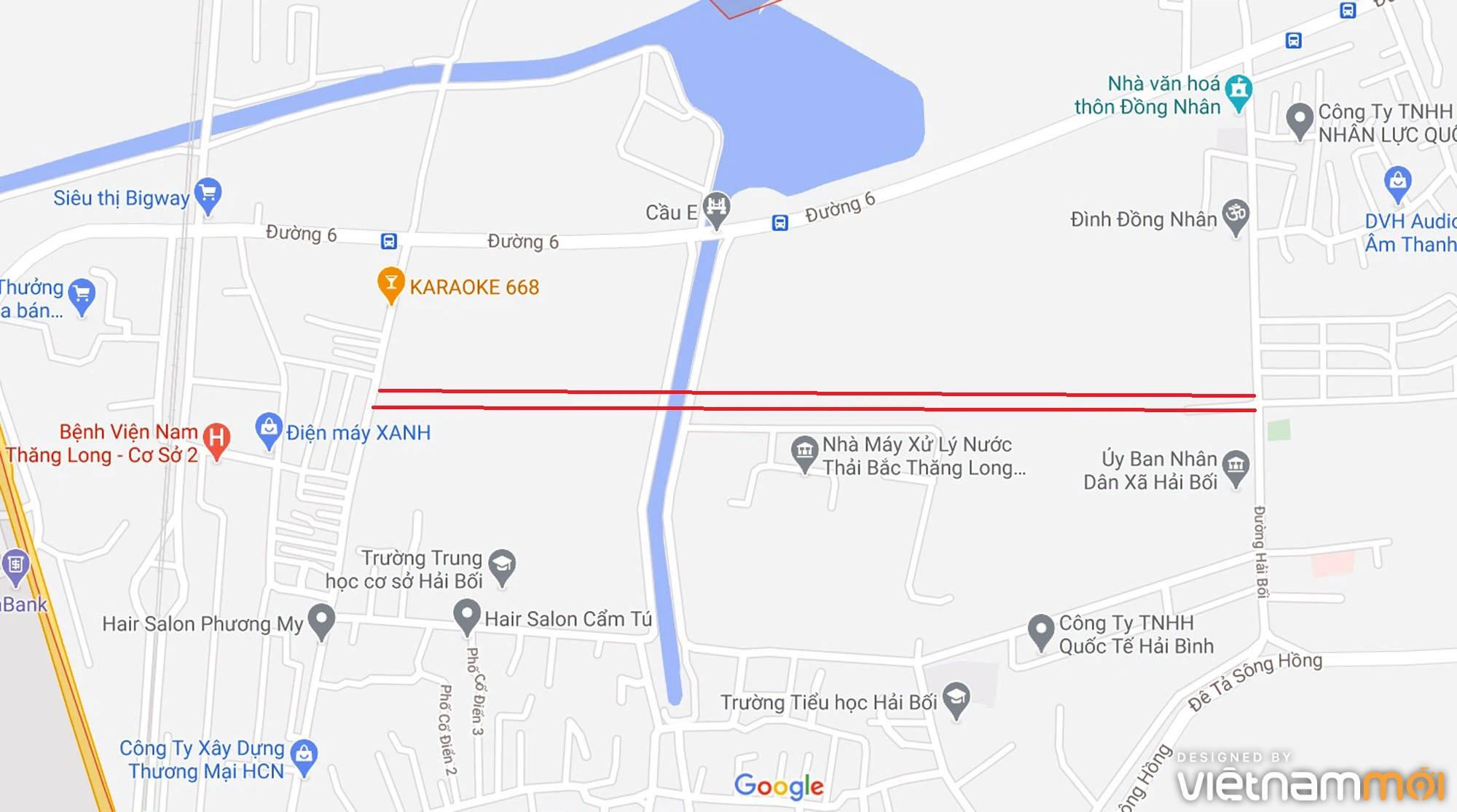 Đường sẽ mở theo quy hoạch ở xã Hải Bối, Đông Anh, Hà Nội (phần 3) - Ảnh 2.