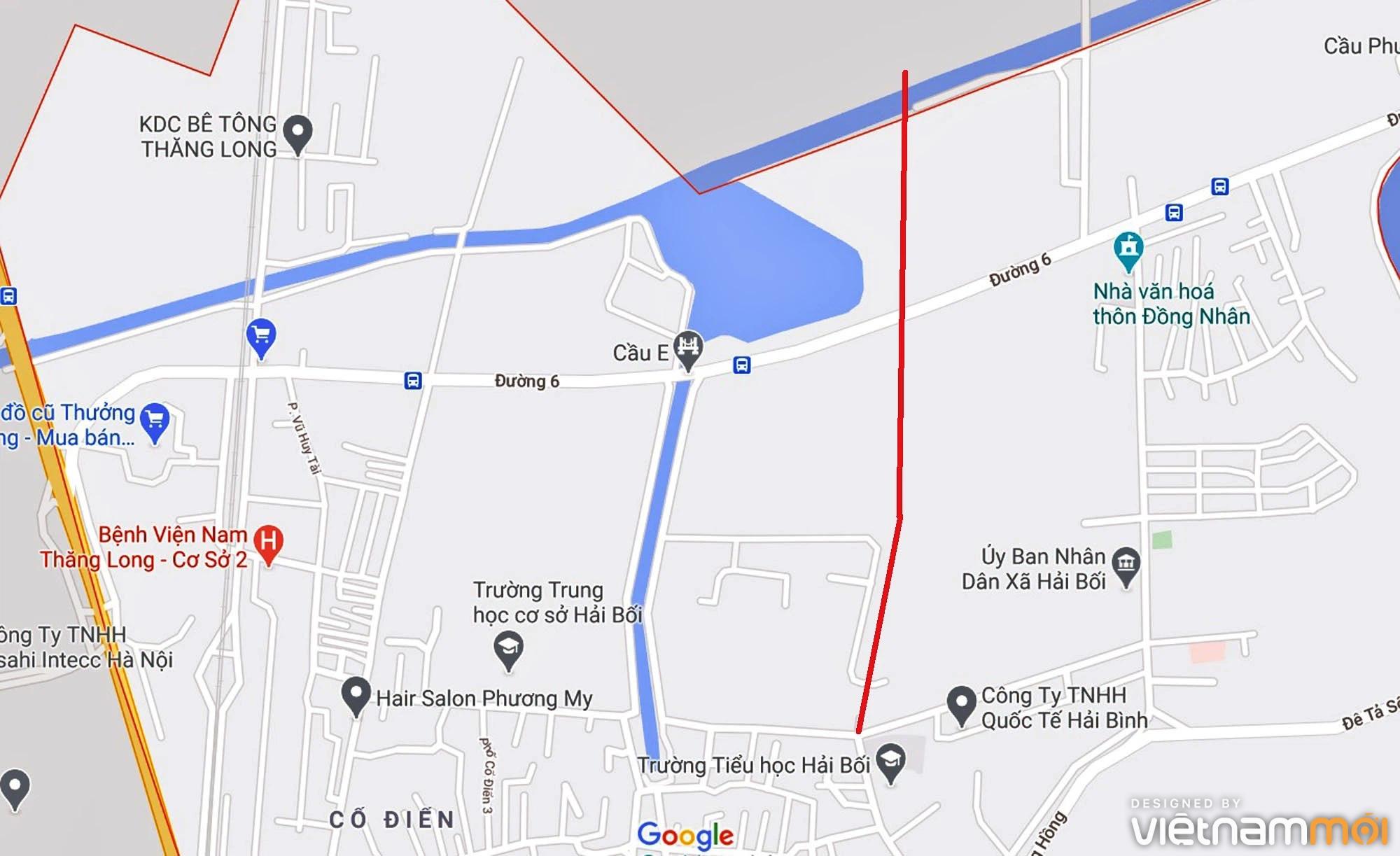 Đường sẽ mở theo quy hoạch ở xã Hải Bối, Đông Anh, Hà Nội (phần 3) - Ảnh 7.