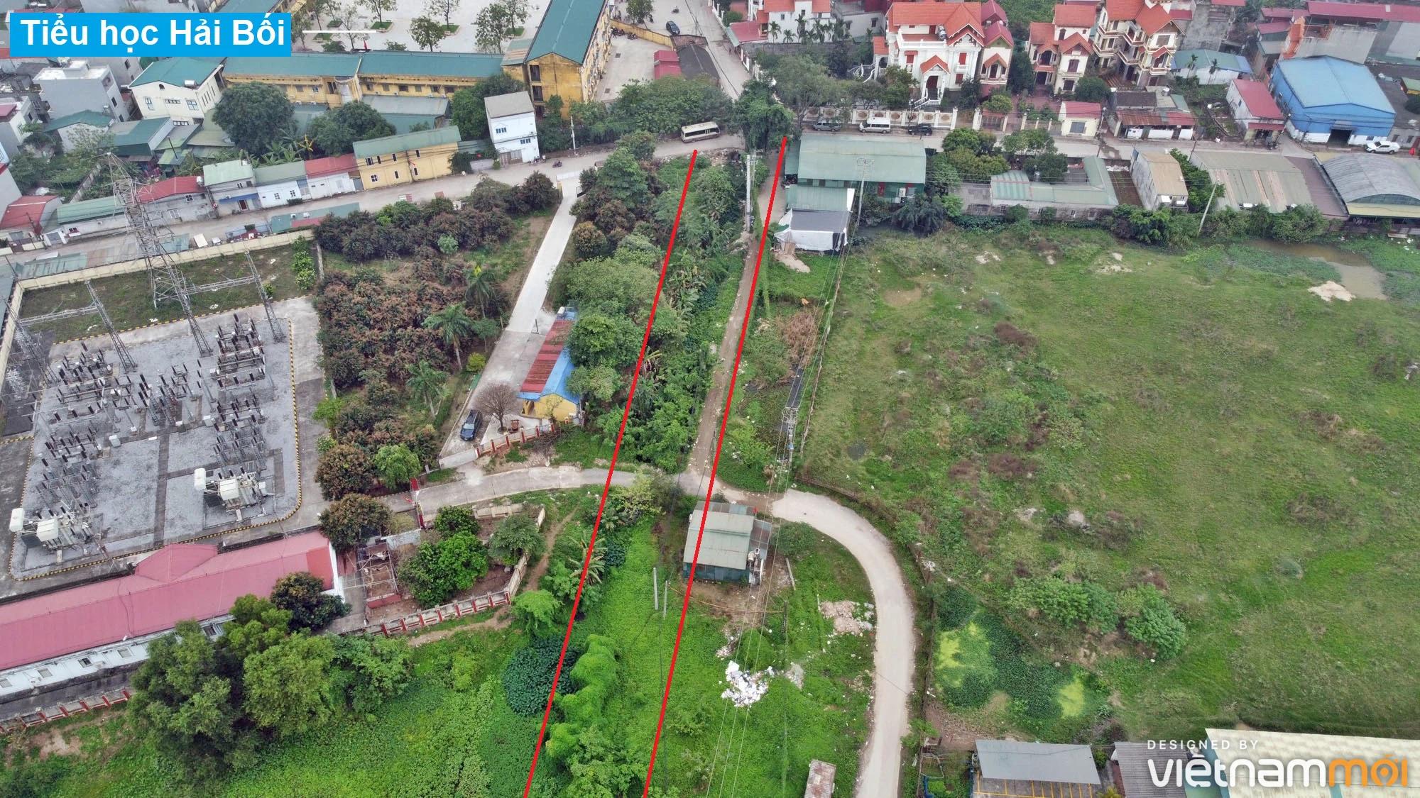 Đường sẽ mở theo quy hoạch ở xã Hải Bối, Đông Anh, Hà Nội (phần 3) - Ảnh 8.