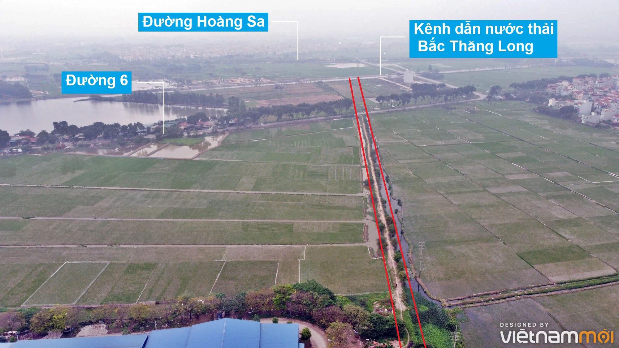 Đường sẽ mở theo quy hoạch ở xã Hải Bối, Đông Anh, Hà Nội (phần 3) - Ảnh 10.