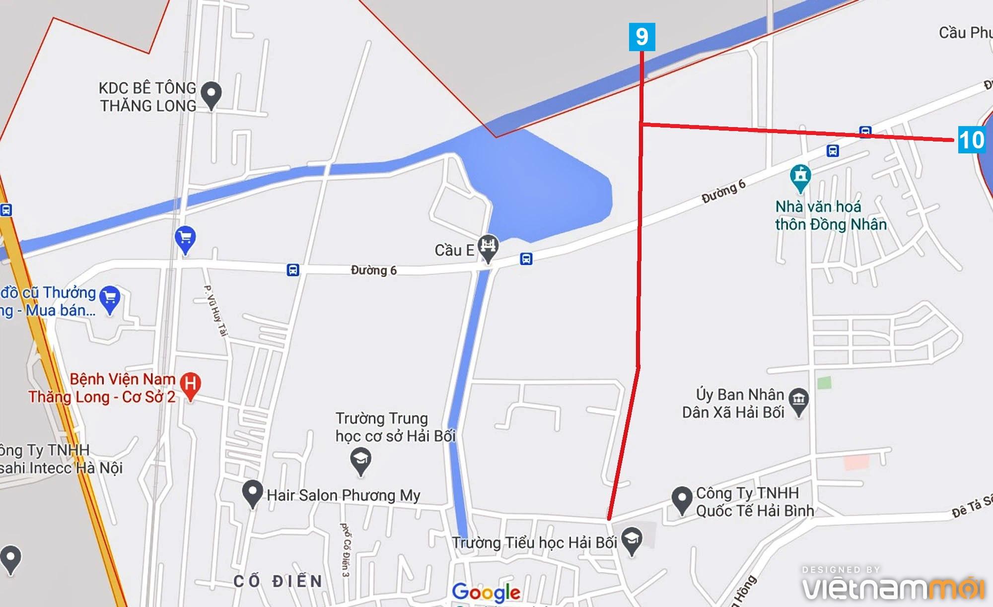 Đường sẽ mở theo quy hoạch ở xã Hải Bối, Đông Anh, Hà Nội (phần 3) - Ảnh 11.