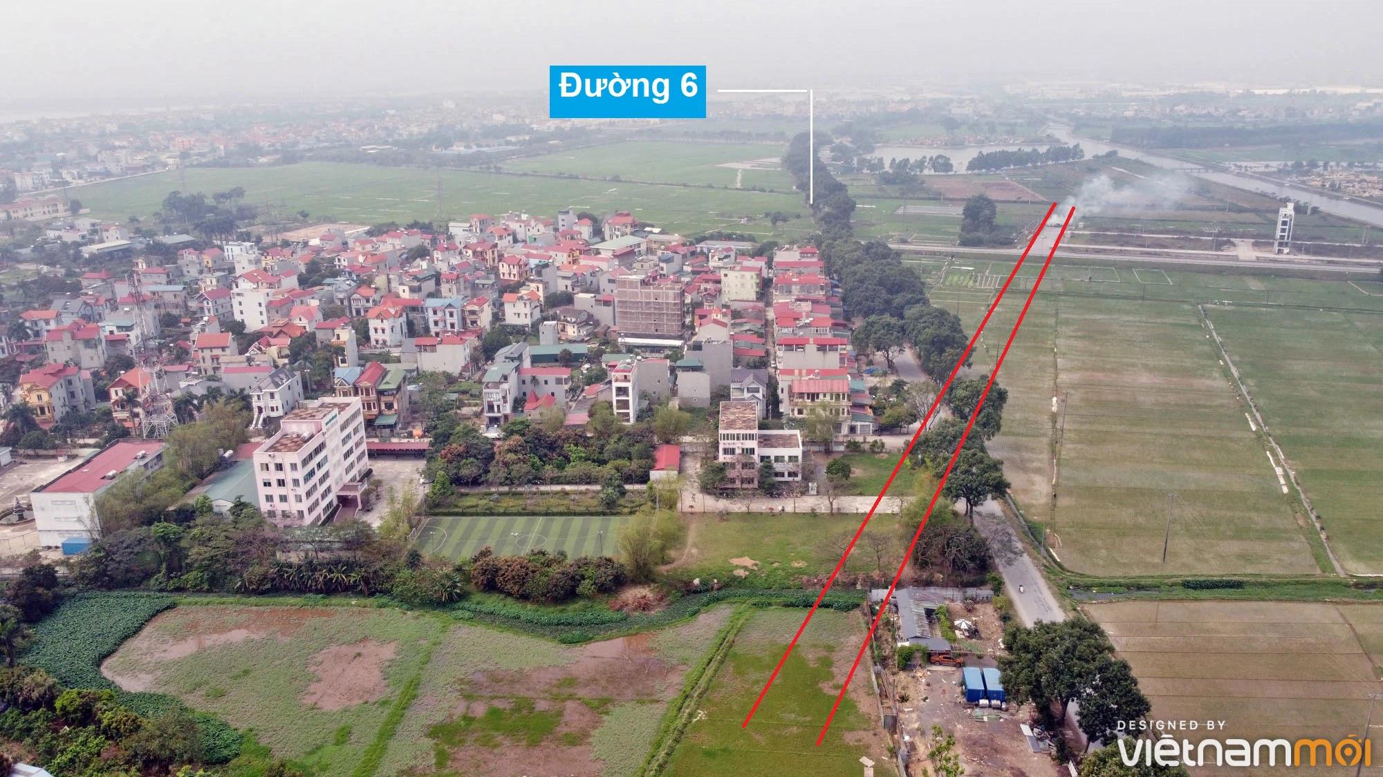 Đường sẽ mở theo quy hoạch ở xã Hải Bối, Đông Anh, Hà Nội (phần 3) - Ảnh 14.