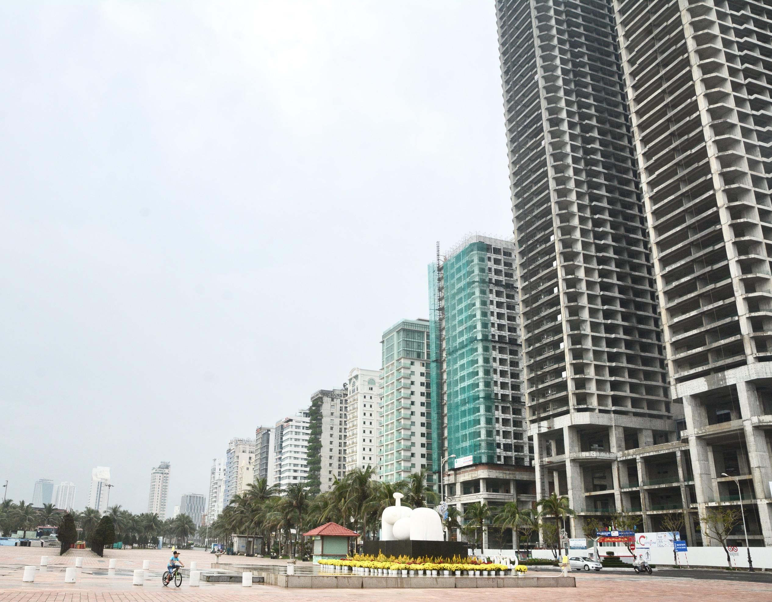 Quận ở Đà Nẵng được xây nhà cao tầng trung bình hơn 80 m - Ảnh 1.
